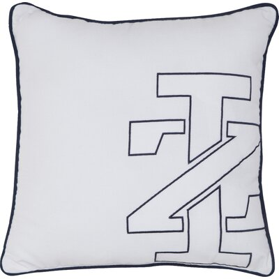 Pacific IZ Logo Embroidered Throw Pillow