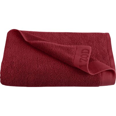 Classic Egyptian Bath Towel Color: Pompei Red