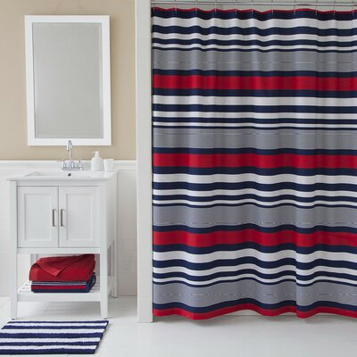 Varsity Stripe Shower Curtain
