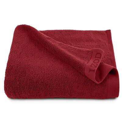 Classic Egyptian Bath Sheet Color: Pompei Red