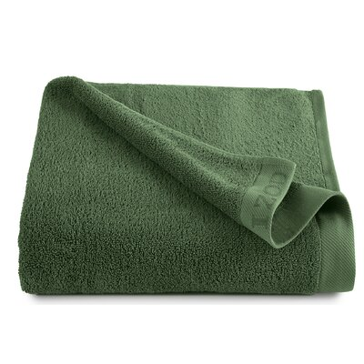 Classic Egyptian Bath Sheet Color: Stone Green