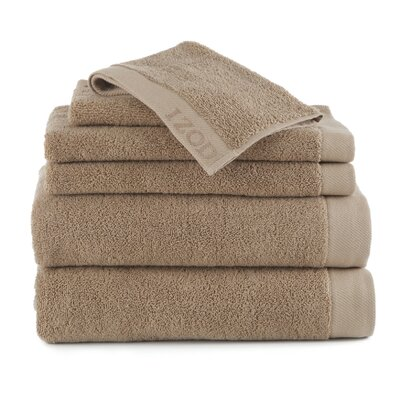 Leeanna  6 Piece Towel Set Color: Cornstalk