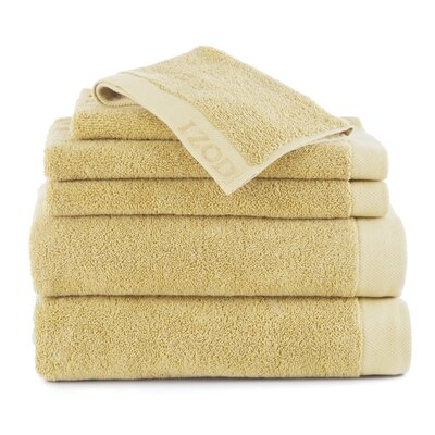 Classic 6 Piece Towel Set Color: Lemon