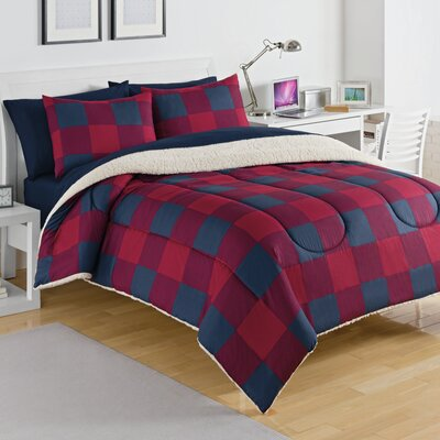 Buffalo Plaid Comforter Set Size: Twin