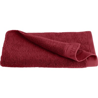 Classic Egyptian Hand Towel Color: Pompei Red