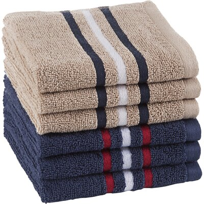 Varsity Stripe Wash Cloth