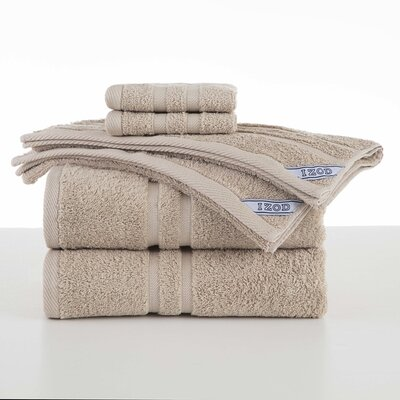 Dry Fast 6 Piece Towel Set Color: Linen