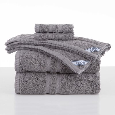 Dry Fast 6 Piece Towel Set Color: Gray
