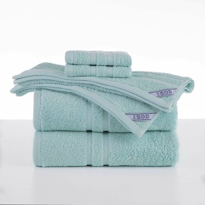 Dry Fast 6 Piece Towel Set Color: Light Turquoise