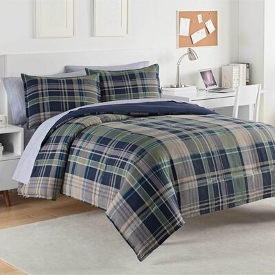 Seattle 100% Cotton Comforter Set Size: King