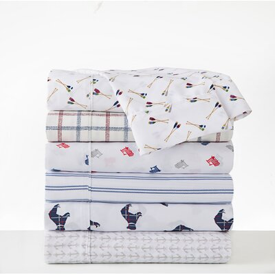 Bulldog Sheet Set Size: Twin