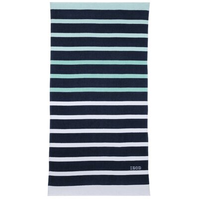 Ombre Stripe Beach Towel