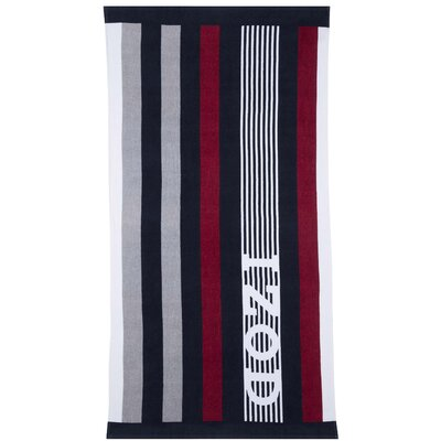 Racing Stripe Beach Towel