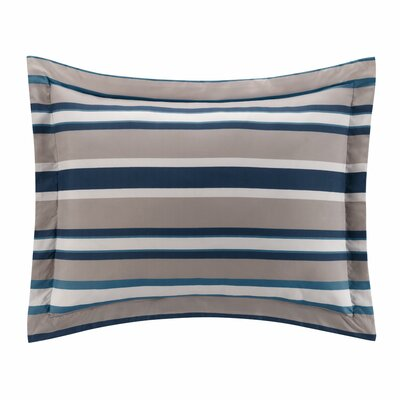 Bradley Stripe Bed-In-a-Bag Size: Twin