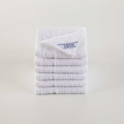 Performance Washcloth Color: Optical White