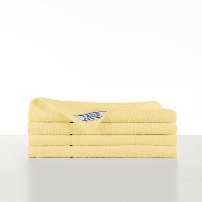 Performance Hand Towel Color: Flaxen