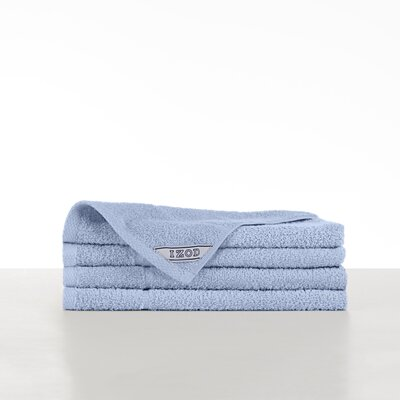 Performance Hand Towel Color: Chambray