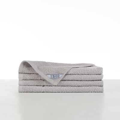 Performance Hand Towel Color: Light Gray