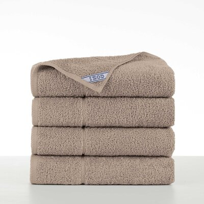 Performance 4 Piece Bath Towel Set Color: Cornstalk