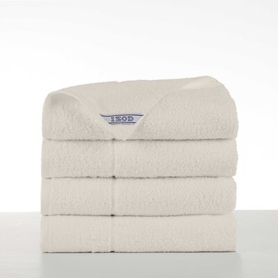 Performance 4 Piece Bath Towel Set Color: Ivory