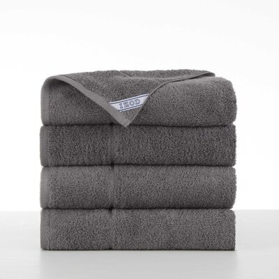 Performance 4 Piece Bath Towel Set Color: Night Gray