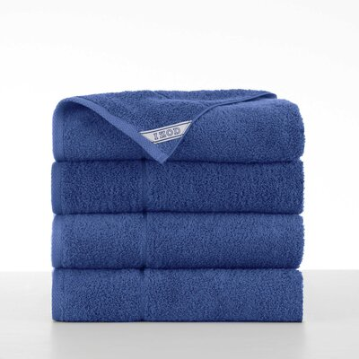 Performance 4 Piece Bath Towel Set Color: New Morning Glory