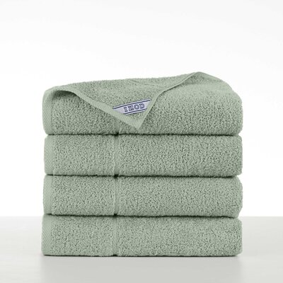 Performance 4 Piece Bath Towel Set Color: Soft Green