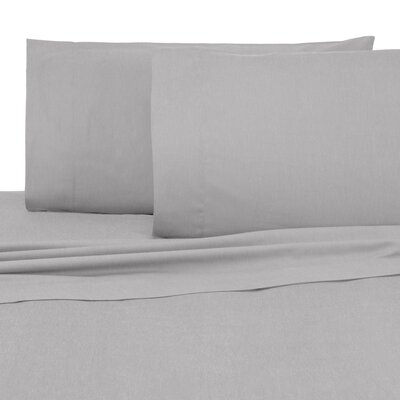 Relaxed Classic Pillow Case Size: King, Color: Harbor Mist