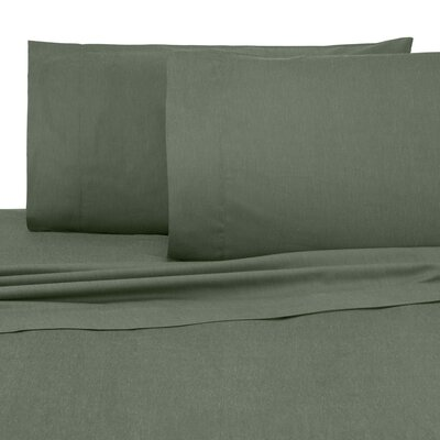 Relaxed Classic 300 Thread Count Sheet Set Size: Full/Double, Color: Laurel Wreath