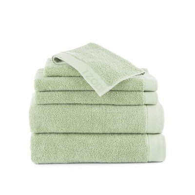 Classic 6 Piece Towel Set Color: Soft Green