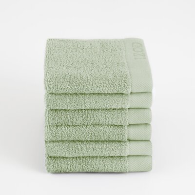 Classic Egyptian Wash Cloth Color: Soft Green