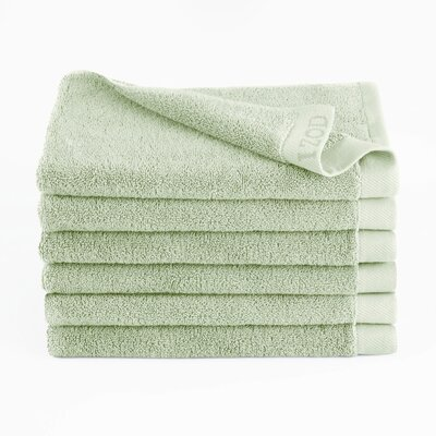 Classic Egyptian Hand Towel Color: Soft Green