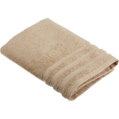 Egyptian Bath Towel Color: Sand / Double Cream