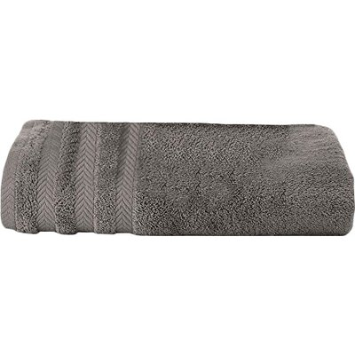 Egyptian Bath Towel Color: Grey