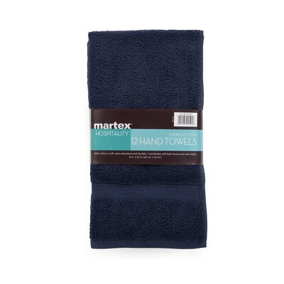 Commercial Hand Towel Color: Navy