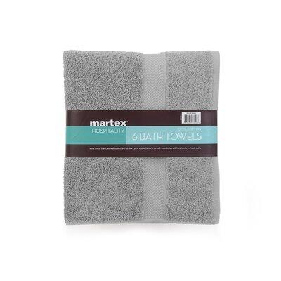 Commercial Bath Towel Color: Gray