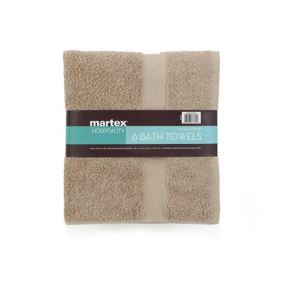 Commercial Bath Towel Color: Khaki