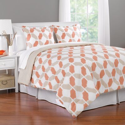 Valentina Reversible Comforter Set Size: King
