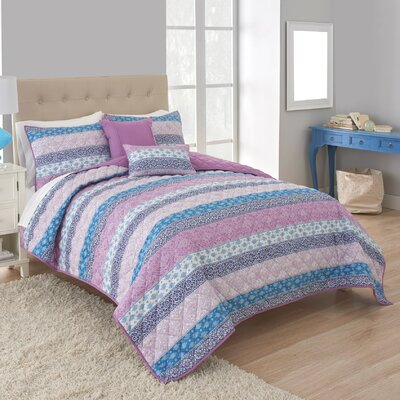 Boho Quilt Set Size: Full/Queen