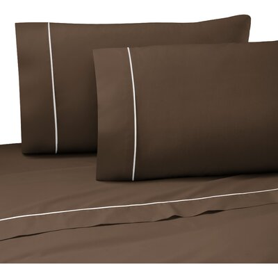 Pipeline Sheet Set Size: Twin, Color: Chocolate