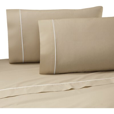 Pipeline Sheet Set Size: King, Color: Khaki