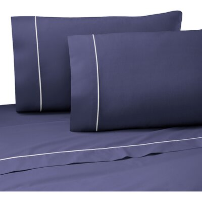 Pipeline Sheet Set Size: King, Color: Navy