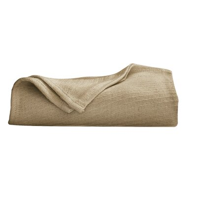 Cotton Blanket Color: Khaki, Size: King