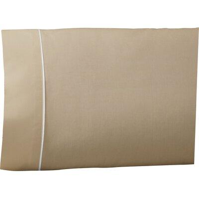 Pipeline Pillow Case Color: Khaki, Size: King