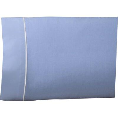 Pipeline Pillow Case Color: Ceil Blue, Size: Queen
