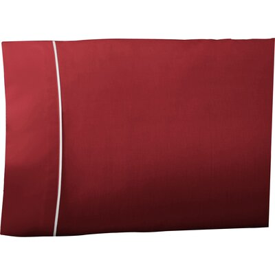 Pipeline Pillow Case Color: Paprika, Size: King