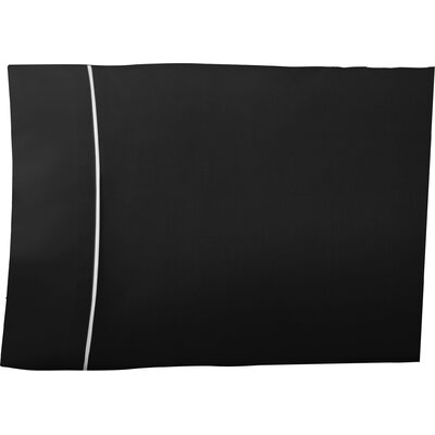 Pipeline Pillow Case Color: Ebony, Size: Queen