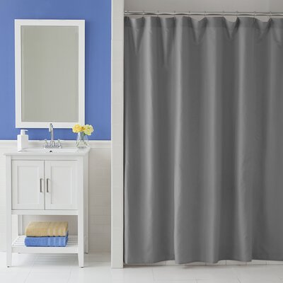 Odelia Martex Shower Curtain Color: Gray