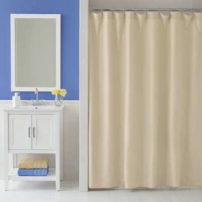 Odelia Martex Shower Curtain Color: Sand
