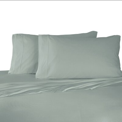 Bare Necessities Jersey Modal Cotton Sheet Set Color: Green, Size: California king